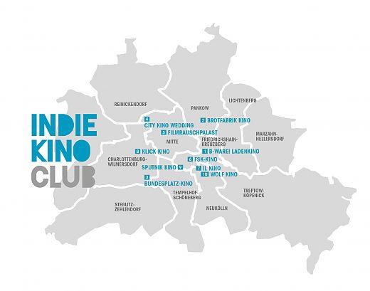 Seit März im Streaming-Geschäft: Der Zusammenschluss Berliner Kinos zur Plattform Indiekino Club (© Indiekino)
